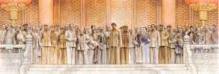 在艺术大家赵建成的巨作里,聆听历史故事,致敬百年风华!